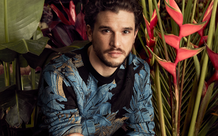 Kit Harington, 2019, anglais célébrité, les gars, Hollywood, Christopher Catesby Harington, acteur anglais, Kit Harington photoshoot