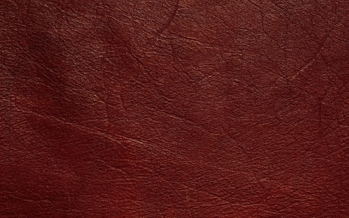 Download Wallpapers Red Leather Texture Leather Textures
