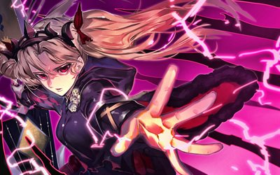 Ereshkigal, Fate Grand Order, manga, Fate Series, TYPE-MOON, Lancer, Ransa