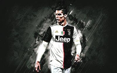 Download Wallpapers Cristiano Ronaldo Portrait Juventus Fc New