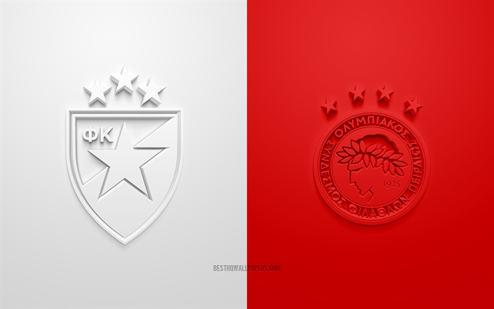 Download Wallpapers Crvena Zvezda Vs Olympiacos Champions