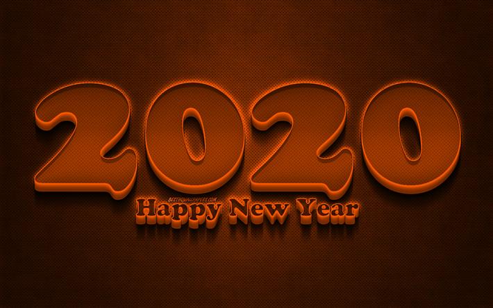 Happy New Year Orange 31