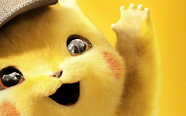Télécharger Fonds Décran Pikachu 4k Pokemon Détective