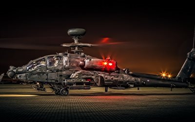 Boeing AH-64 Apache, gunship, US helicopters, Apache