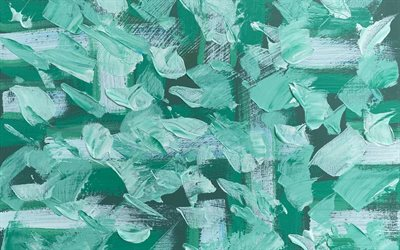turquoise paint splashes texture, turquoise grunge texture, paint background, paint strokes texture
