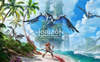 Horizon Forbidden West, poster, promo materials, RPG, new games