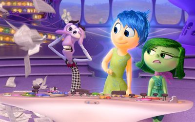 Inside Out 2, 2017, Disney, Pixar, adventure