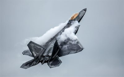 Lockheed Martin F-22 Raptor, F-22, multirole fighter, US Air Force, USA