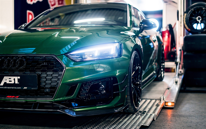 Download Wallpapers 4k Abt Audi Rs5 R Abt Sportsline Headlights