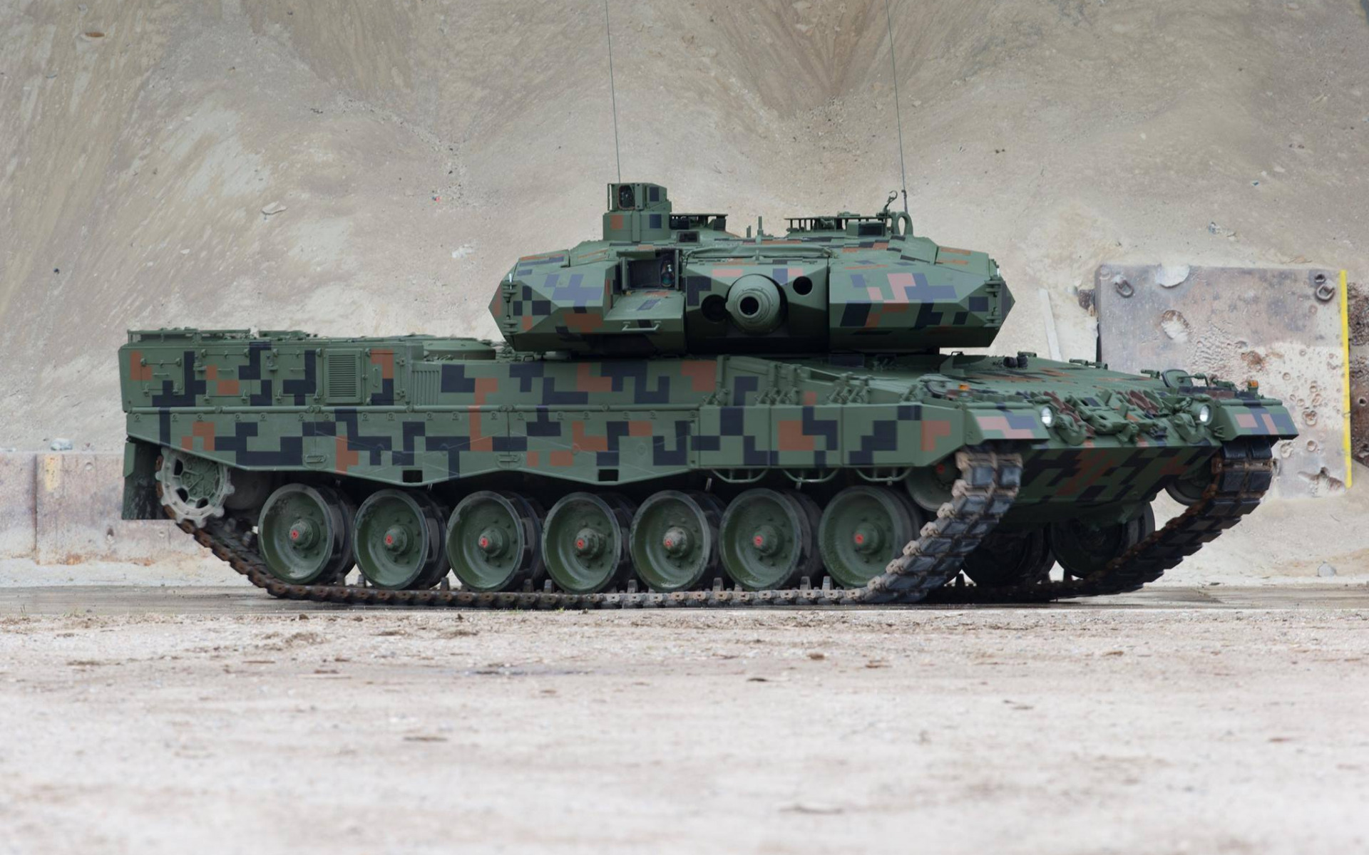 Leopard 2PL, Polish battle tank, the army of Poland, camouflage green, tanks, Main Battle Tank, Poland