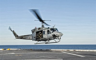 Bell UH-1 Iroquois, TH-1 Iroquois, elicottero militare, Marina militare americana, americana, elicotteri