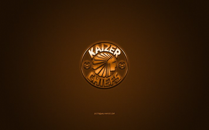 Download Wallpapers Kaizer Chiefs Fc South African Football Club South African Premier Division Orange Logo Orange Carbon Fiber Background Football Johannesburg South Africa Kaizer Chiefs Fc Logo For Desktop Free Pictures For