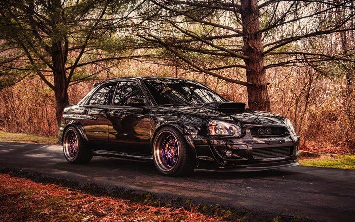 Download Wallpapers Subaru Impreza Wrx Sti 4k Tuning