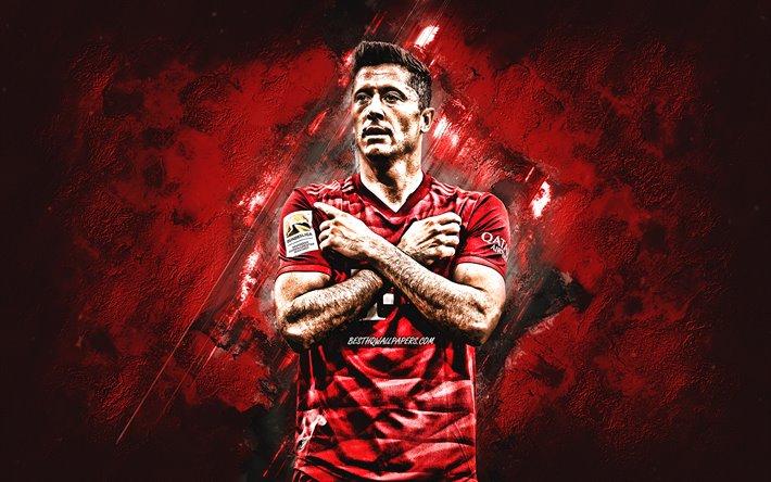Download Wallpapers Robert Lewandowski Bayern Munich Polish