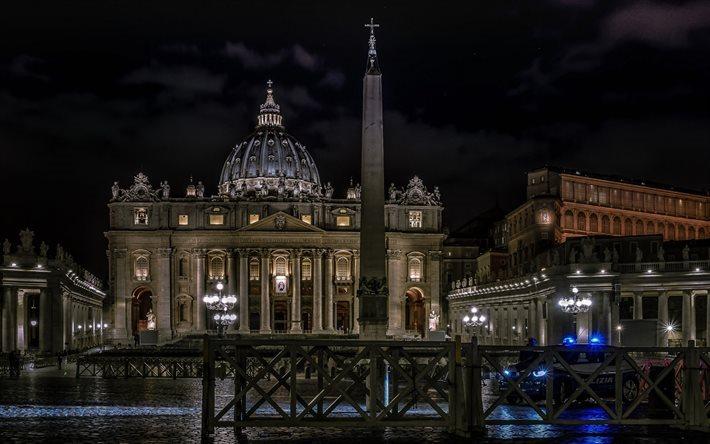 Scarica Sfondi La Basilica Di San Pietro, Città Del