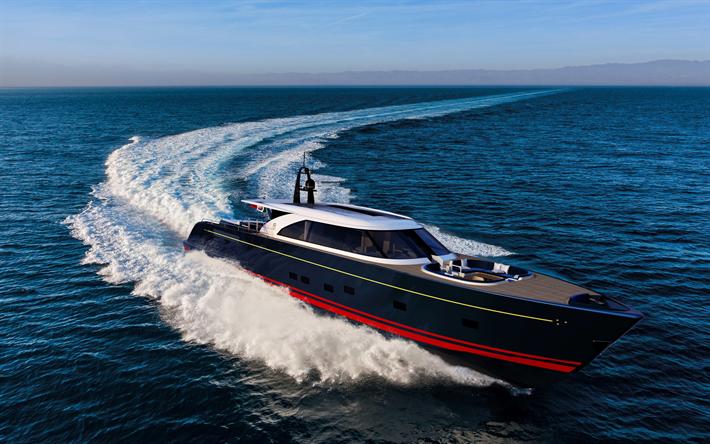 Download Wallpapers Perini Navi 25m Eco Tender 4k Superyacht Luxury Yacht Sea Perini Navi For Desktop Free Pictures For Desktop Free