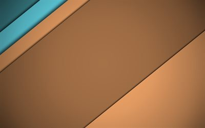 material design, Brown background, lines, brown material, geometry