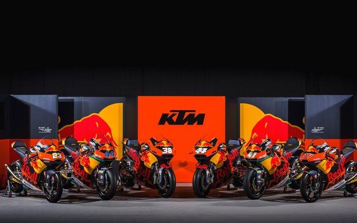 Download Wallpapers Red Bull Ktm Factory Sportbikes Ktm Rc16 2017 Bikes Motogp For Desktop Free Pictures For Desktop Free