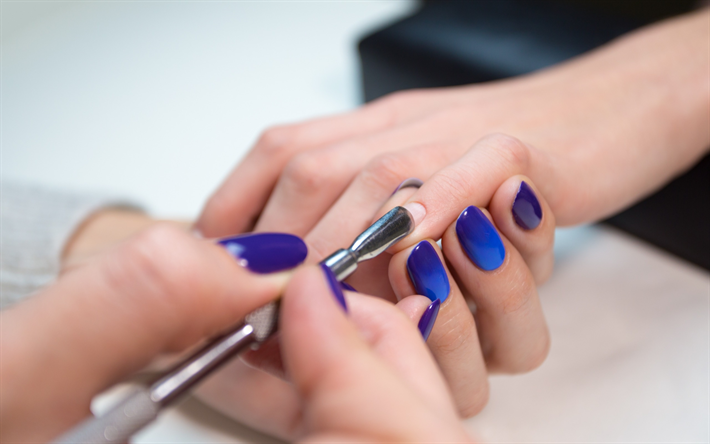 Download wallpapers manicure concepts beauty salon - Nails wallpaper download ...
