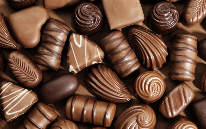 är choklad godis