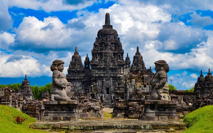 Candi Sewu 4k Buddhist Temple Indonesian Landmarks Yogyakarta Buddhism Central