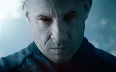 Bloodshot, 2020, Vin Diesel, poster, promotional materials, main character