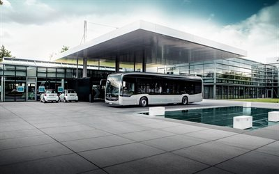 2020, Mercedes-Benz eCitaro, electric city transport, Electric Bus, passenger bus, Mercedes