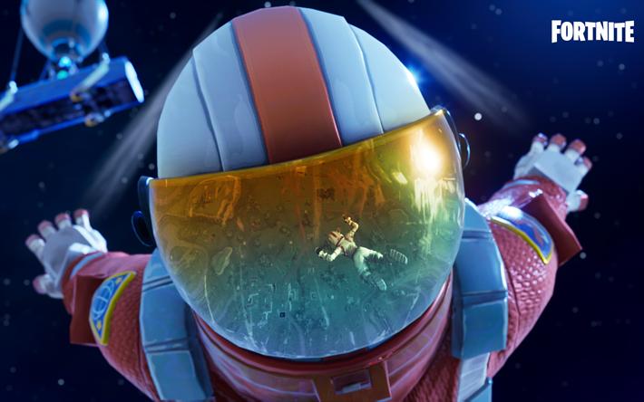 Scarica Sfondi Astronauta Fortnite Battle Royale 2018 Giochi