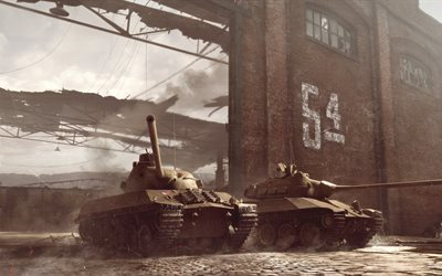 TVP T 50 51, Skoda T 50, WoT, 4k, World of Tanks, Czechoslovakia