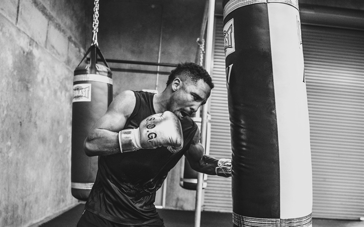 Andre Ward American Boxer Boxing Training Hall WBO Pear