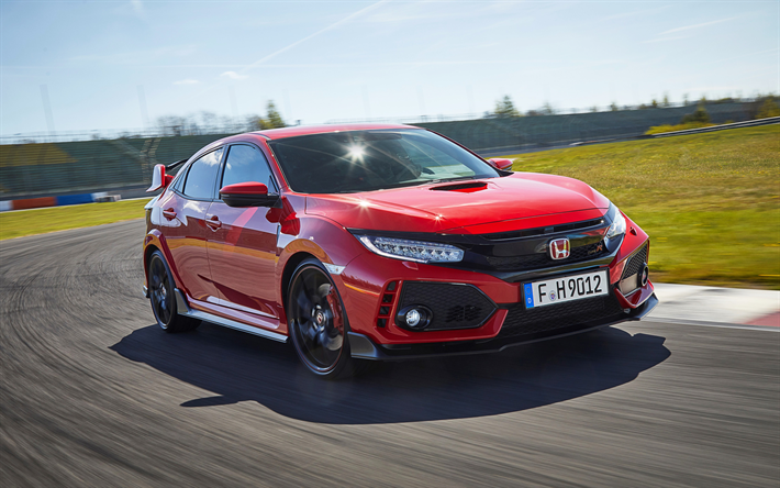 download wallpapers honda civic type r 2017 tuning. Black Bedroom Furniture Sets. Home Design Ideas