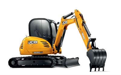 Pelle JCB 8050 RTS, Mini pelle, machines spéciales, machines de construction