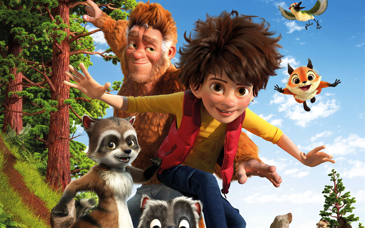 Download Wallpapers The Son Of Bigfoot, 2017, Adam, New -2346