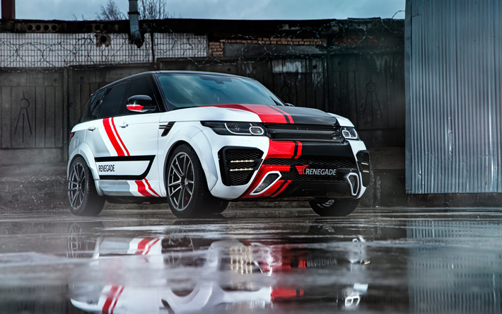 Download Wallpapers Renegade Tuning Range Rover Sport