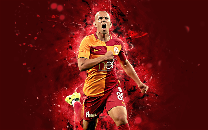 Download Wallpapers Sofiane Feghouli 4k Abstract Art