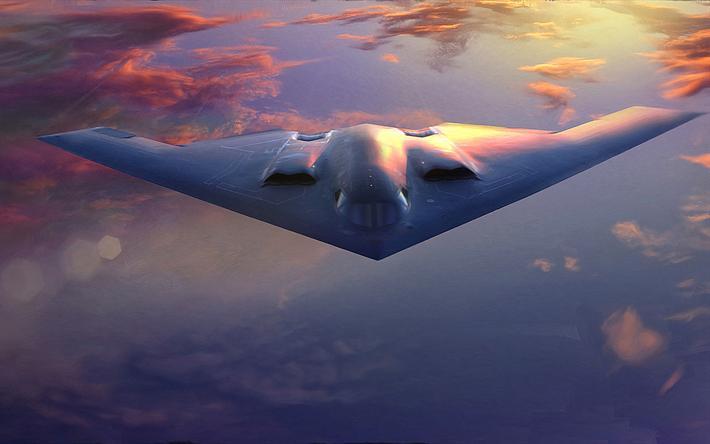 Download wallpapers Northrop Grumman B-2 Spirit, Stealth Bomber, combat  aircraft, bomber, Northrop Grumman, US Army for desktop free. Pictures for  desktop free