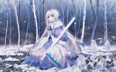 Marie Antoinette, winter, Fate Series, Fate Grand Order, Caster, TYPE-MOON