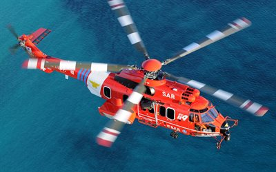 Eurocopter EC725, South Korean rescue helicopter, Airbus Helicopters H225M, modern helicopters, transport helicopters