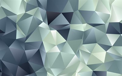 gray low poly background, low poly abstract background, geometric background, creative art