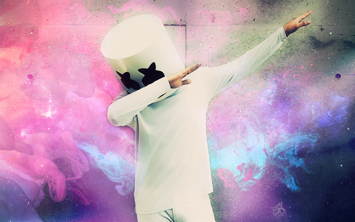 Download Wallpapers Dj Marshmello Chris Comstock American Popular
