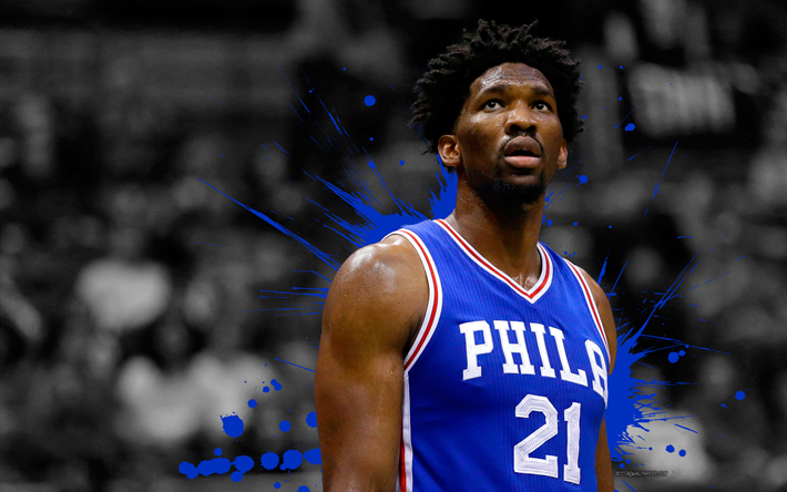Download Wallpapers Joel Embiid 4k Basketball Players Nba