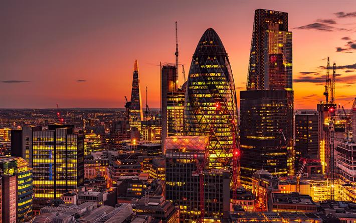 Herunterladen hintergrundbild london wolkenkratzer the - London architektur ...