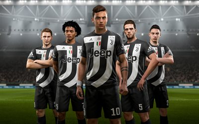 FIFA 18, Juventus, 2017 games, football simulator, Juve