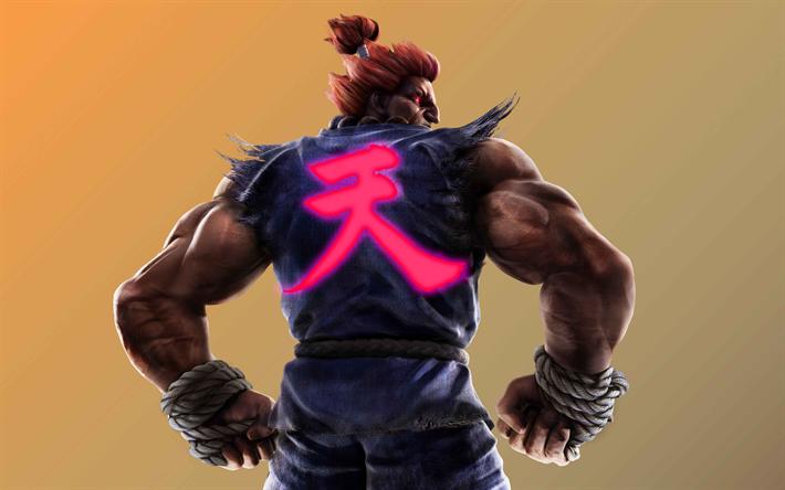 Download Wallpapers Akuma 4k Artwork Devil Jin Tekken 7
