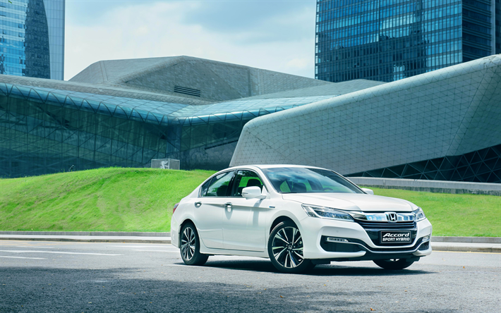 Download wallpapers honda sport hybrid 2017 cars for Accord asian cuisine