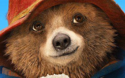 Paddington 2, 2016, bear, characters, 3d bear