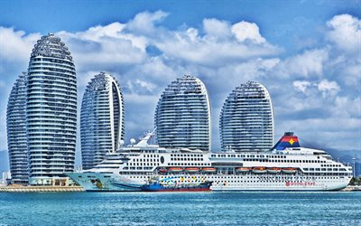 SuperStar Aquarius, China, hoteles, cruceros, Star Cruises, HDR