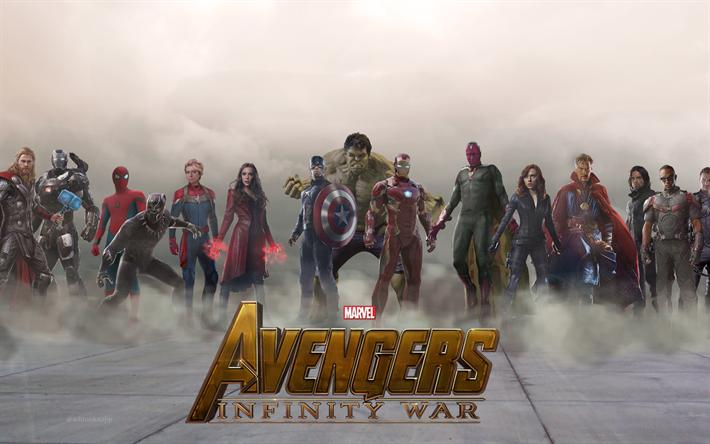 T l charger fonds d 39 cran avengers l 39 infini de la guerre - Avengers 2 telecharger ...
