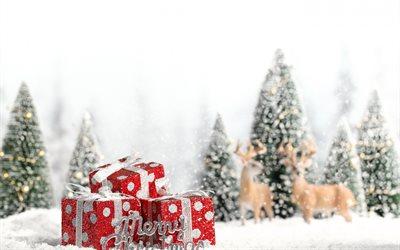 herunterladen hintergrundbild rote geschenke weihnachten. Black Bedroom Furniture Sets. Home Design Ideas