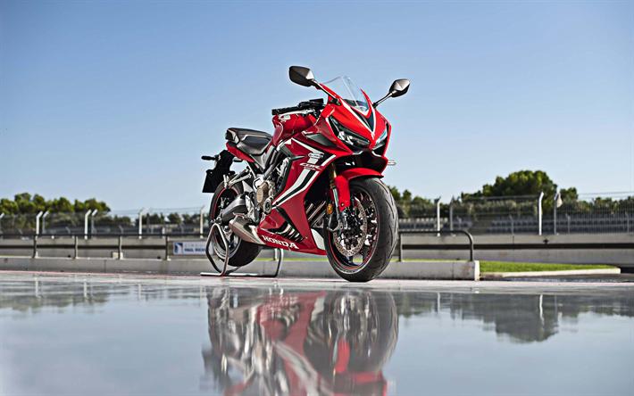 Download Wallpapers Honda CBR 650 R, 4k, Sportsbikes, 2019